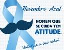 Novembro Azul - A Câmara Municipal de Monte Azul - MG destaca prevenção do câncer de próstata